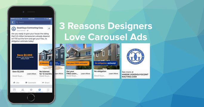 3 reasons designers love carousel ads