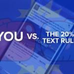 Facebook's 20% Text Rule