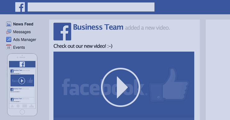 Facebook Video Graphic