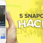 5 Snapchat Hacks