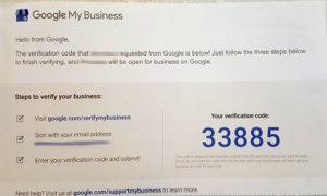 Google My Business verification back2