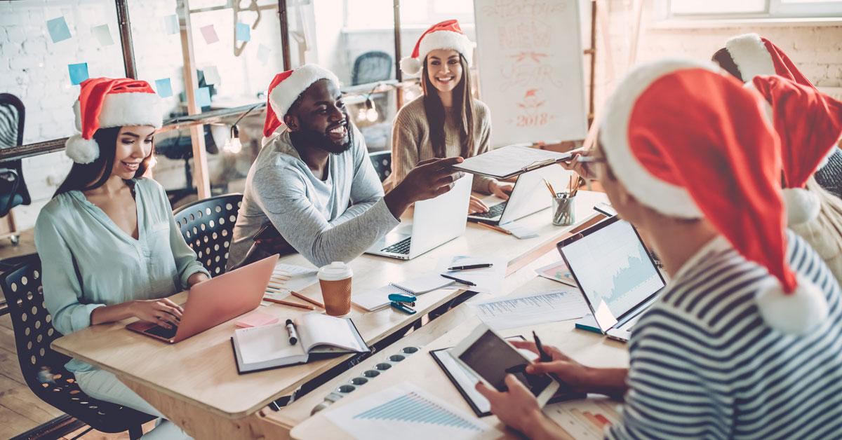 holiday social media strategy meeting