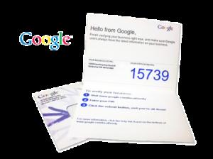 blog google verification postcard
