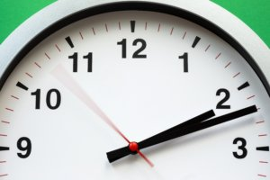 clock with second hand