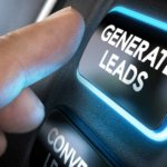 Glowing Generate Leads button