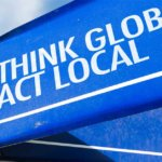 """Act Local"" Sign"