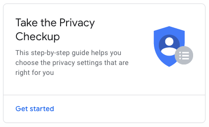 GMB Privacy Checkup