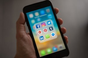 social sites on phone